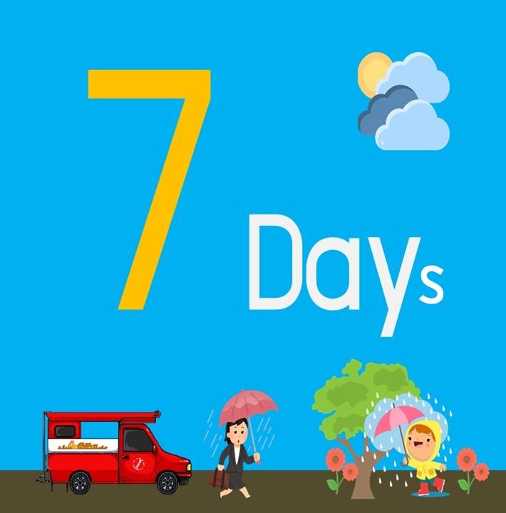 พยากรณ์อากาศ 7 วัน